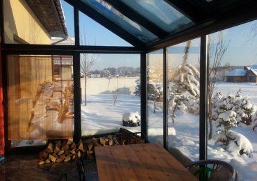 Ogród zimowy aluminiowy
