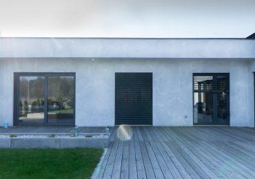 Drzwi tarasowe aluminiowe