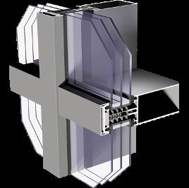 Profil fasadowy MC passive